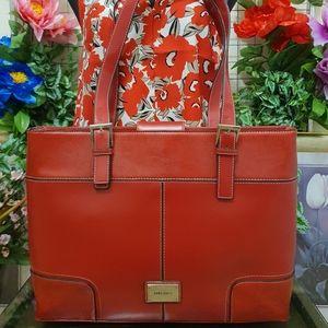 Laura Jones | Shoulder Bag / Laptop Bag | Red | Pre-Owned